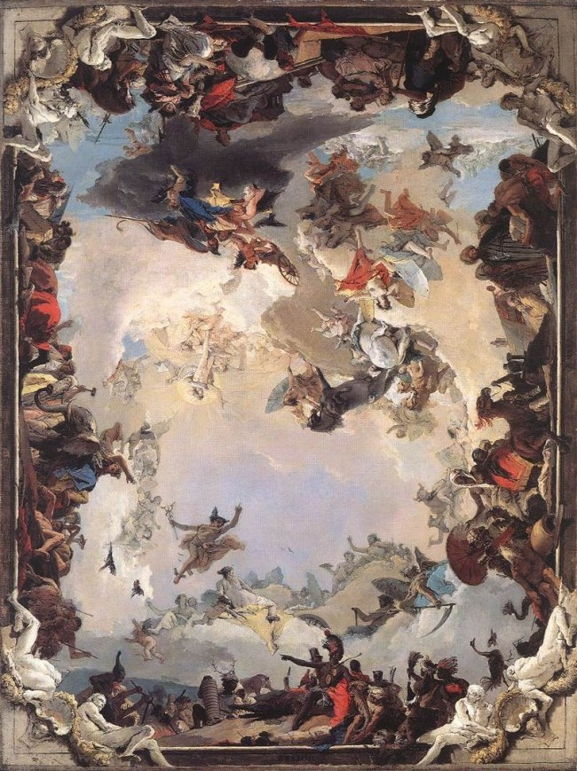 X also Ngsversion Adapt as well Astro Pla s besides Giovanni Battista Tiepolo Allegory Of The Pla s And Continents E together with Collage Enlarge. on space planets