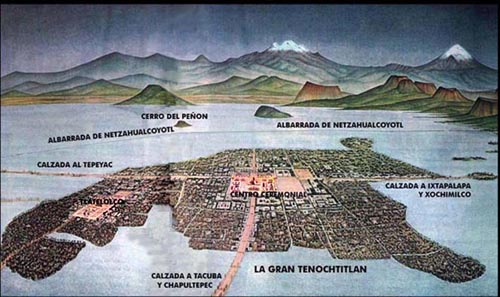 The Supplanting of Lake Texcoco with Mexico City • The ...