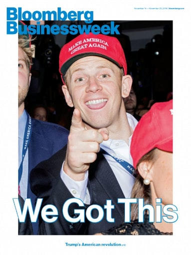 The Bloomberg Businessweek cover was on point last week